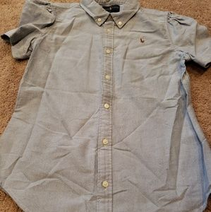 Ralph lauren polo girls dress shirt size 16